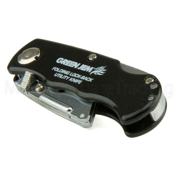 Folding Knife Pocket Utility Blade Holder Lock