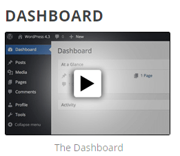 thumbnail image for WordPress Dashboard Video