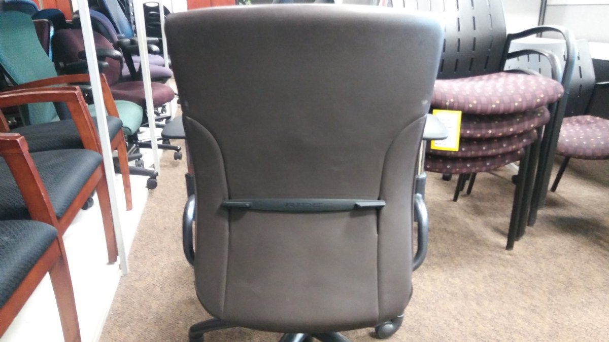 Global Ride Series Leather Chair