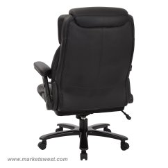 High Back Chairs With Arms Racing Style Office Chair Big And Tall Bonded Leather Executive