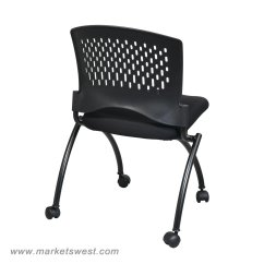 Folding Chair No Arms Shower Bed Bath And Beyond Deluxe With Ventilated Back