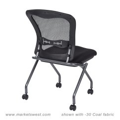 Folding Chair No Arms Gaming Under 100 Deluxe With Progrid Back