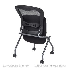 Folding Chair No Arms Pad Covers Pattern Deluxe With Progrid Back