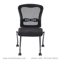 Folding Chair No Arms Sofa Bed Deluxe With Progrid Back