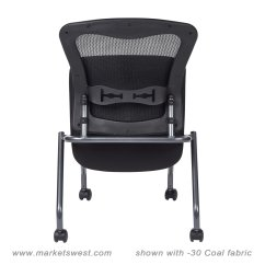 Folding Chair No Arms Eames Amazon Deluxe With Progrid Back