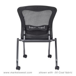 Folding Chair No Arms Orthopedic Chairs For Home Deluxe With Progrid Back