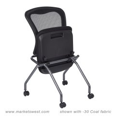 Folding Chair No Arms Parson Chairs Slipcovers Deluxe With Progrid Back