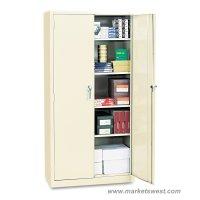 Alera Heavy Duty Welded Metal Storage Cabinet 72x36x18