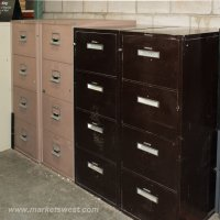 4-Drawer Legal Size FIREPROOF FILE Cabinets- Pre-owned ...