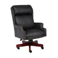 Boss High-Back Traditional Executive Chair