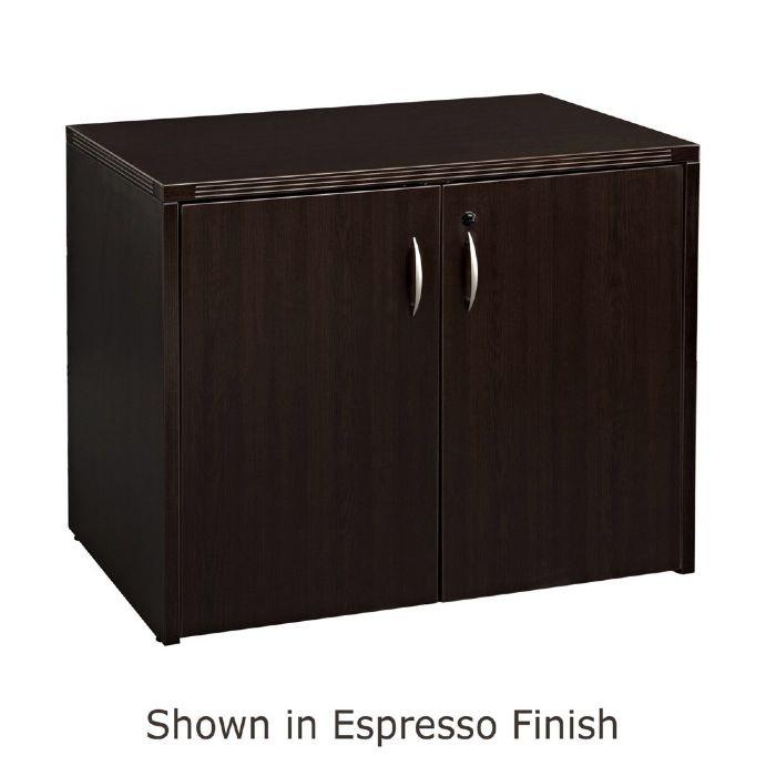 2Door Storage Cabinet 36X22 Espresso