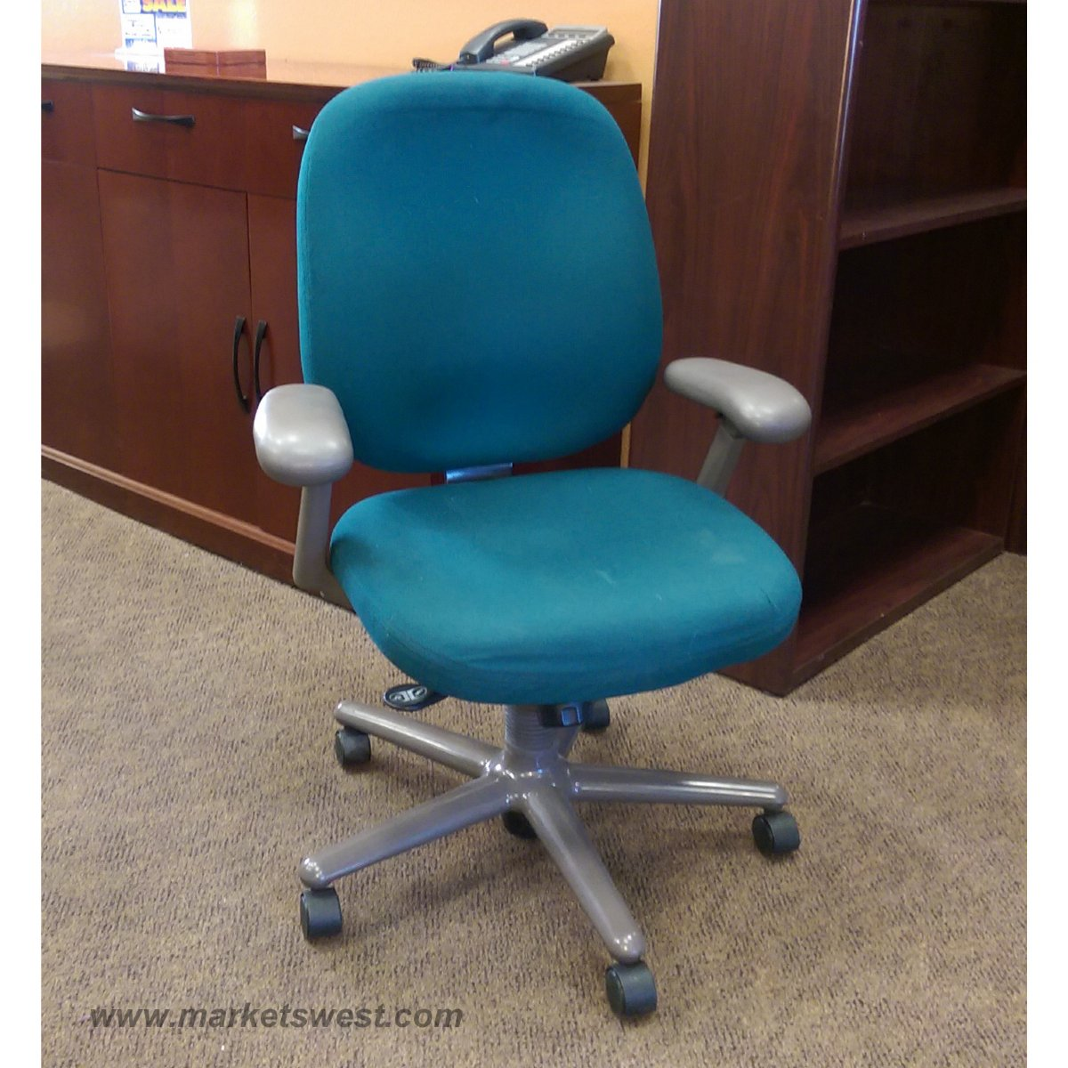 Herman Miller Ergon Desk Chair with Arms  Used