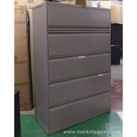 4-Drawer Knoll Lateral File Cabinets - Used