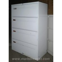 4-Drawer Lateral File Cabinets-Used