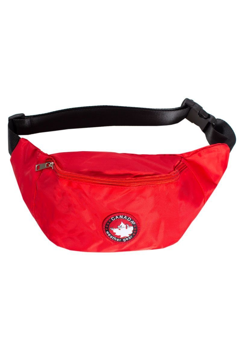 Canada Weather Gear Fanny Pack - Red