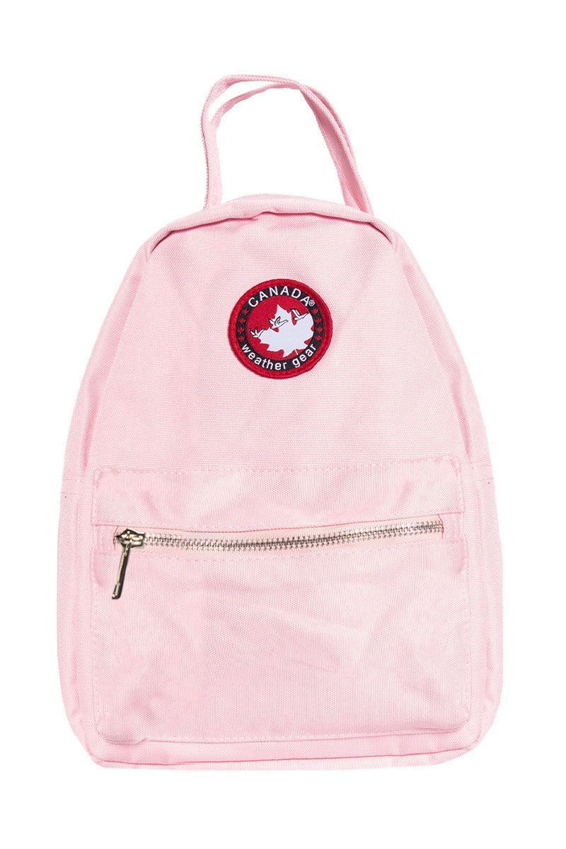Canada Weather Gear Mini Backpack - Pink