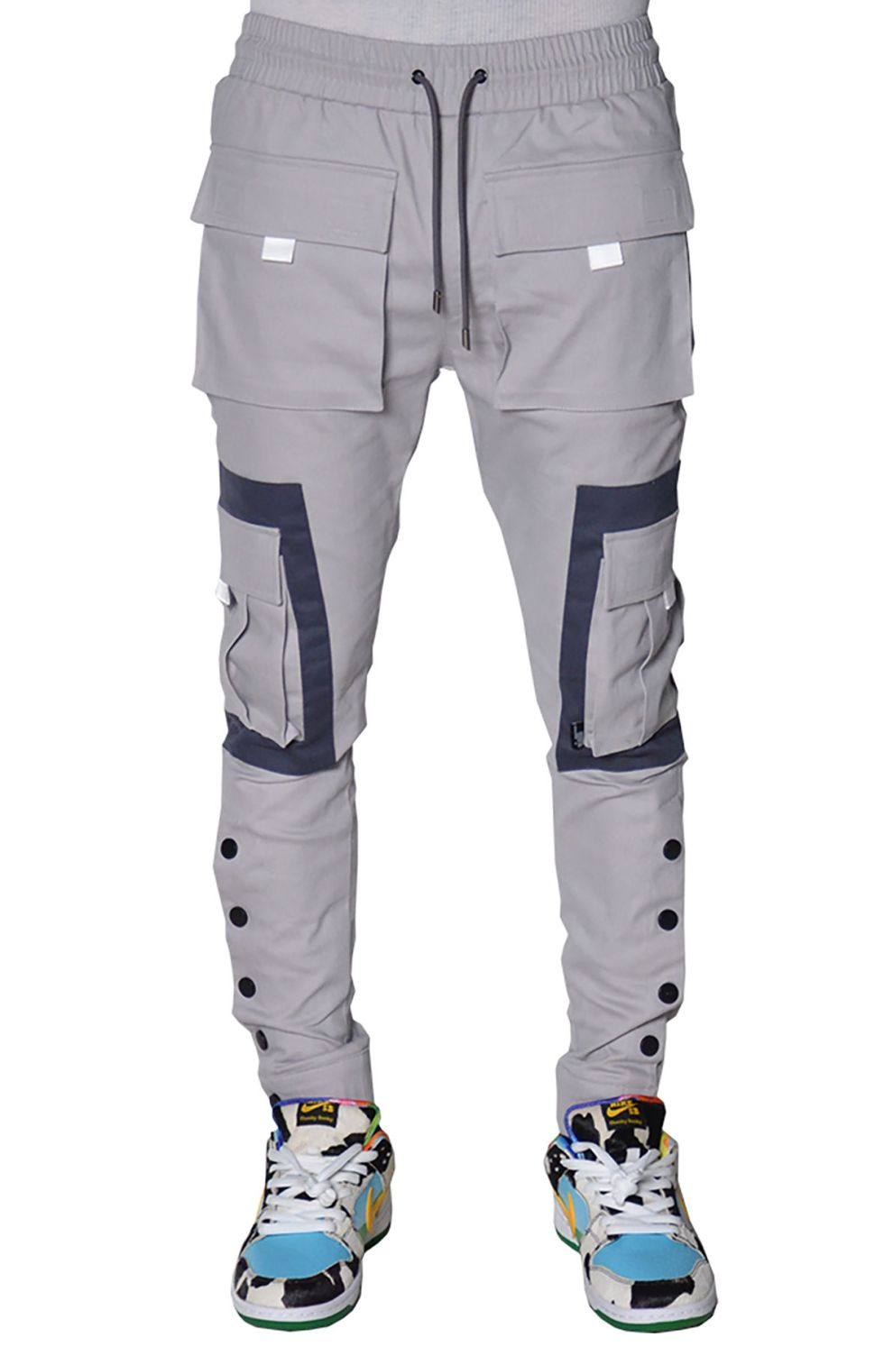 Mystic Cargo Joggers (Cold Grey)