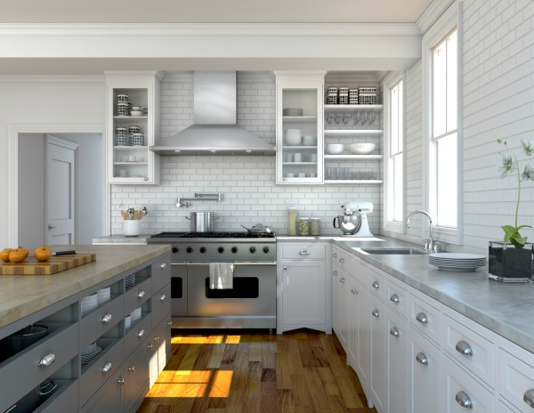 in a kitchen range hoods chimney Zephyr Unveils Siena Pro Chimney Hood; The Power Needed for the Professional Style Kitchen at an