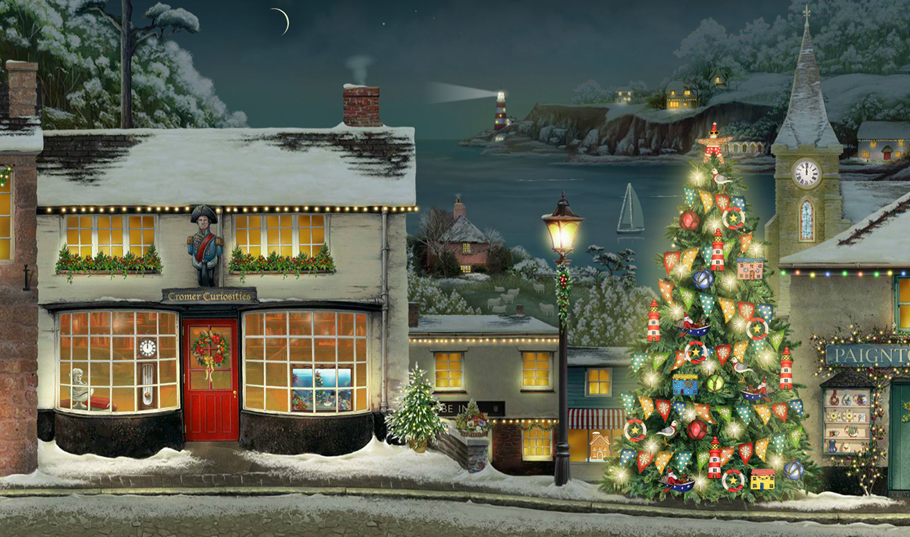 Jacquie Lawsons New Seaside Advent Calendar Released For
