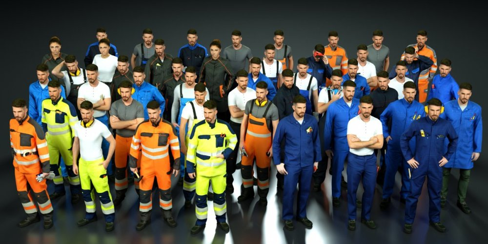 mark-florquin-3d-scanning-scan-photogrammetry-holographer-realistic-Initial Workwear 3D