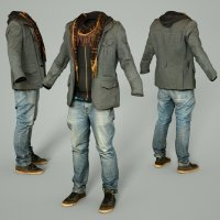 Male Clothing Outfit 64