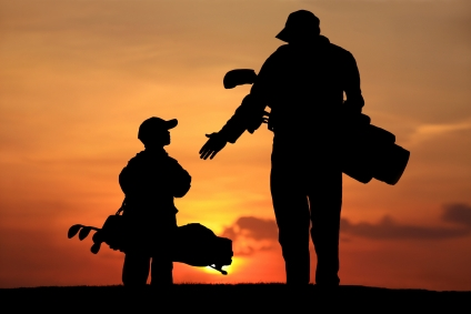 father_son_golf