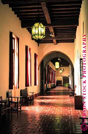 spanish architecture Santa Barbara courthouse interior