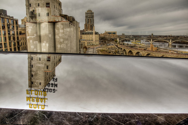 Gold Medal Flour HDR, Guthrie Theater HDR, Minneapolis, Minnesota, HDR
