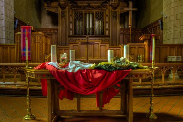 Hennepin Avenue United Methodist Church, Minneapolis, HDR Church Altar