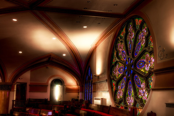 HDR Stained Glass, Westminster Presbyterian Church, Minneapolis, Minnesota