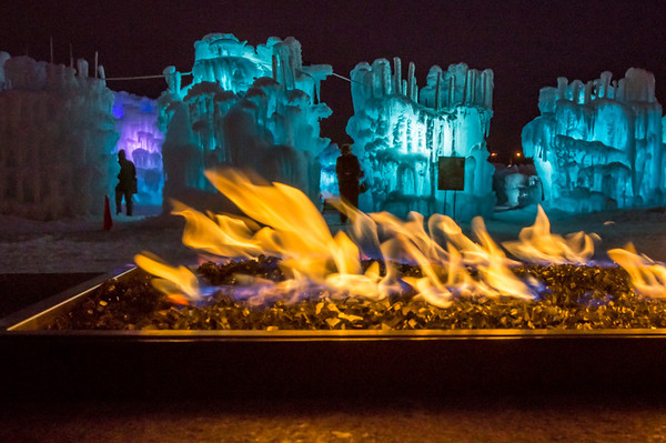Fire and Ice, Ice Castle, Mall of America, Bloomington, Minnesota, Ice, Winter, exhibit