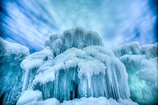 Ice Castle, Mall of America, Ice, Exhibit, Bloomington, Minnesota, Winter