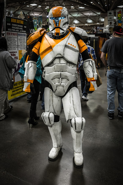 Clone Trooper Costume, Star Wars Cosplay, Commander Cody Costume, Wizard World Minneapolis Comic Con 2014