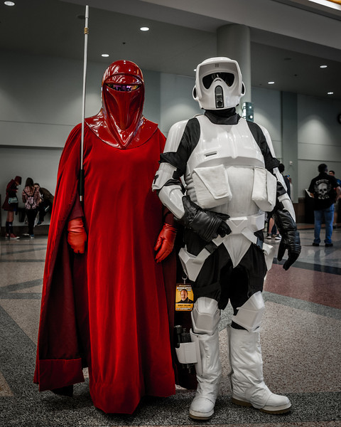 Star Wars Cosplay, Star Wars Costumes, Imperial Guard costume, Scout Trooper Costume, Star Wars Comic Con Minneapolis 2014