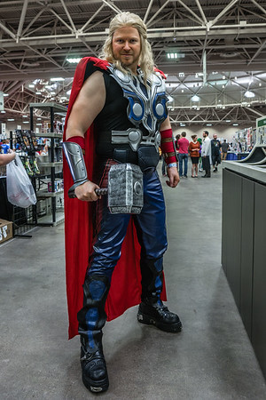 Wizard World Comic Con Minneapolis 2015, Thor Cosplay, Avengers Cosplay, Thor Costume