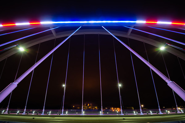 "alt=""New Lowry Avenue Bridge, Election Day, Red White and Blue, HDR, Minneapolis, Minnesota"""