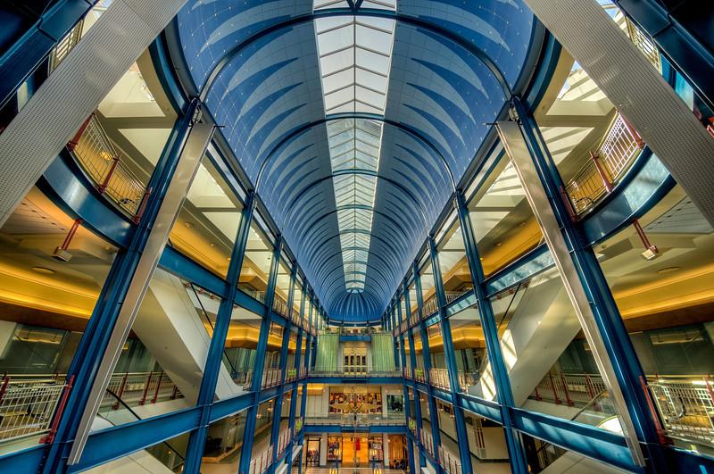 Gaviidae Commons, Shopping Center, Minneapolis, HDR
