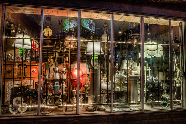 Lamp Shop, St Paul, Saint Paul, 7th Street