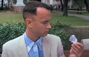 """I may not be a smart man, but I know what love is."" Being present for Jenny made Gump irresistible."