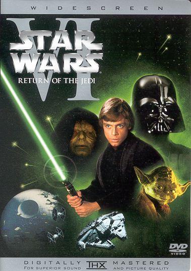 DVD Star Wars VI Return Of The Jedi Mark R Headricks Website