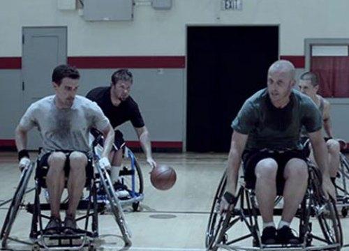 Guinness wheelchair basketball advert