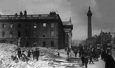 The GPO after the Rising.