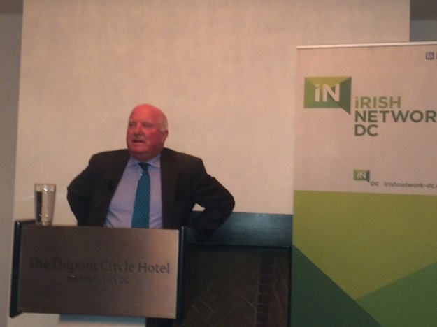 John Rowan at Irish Network DC event.