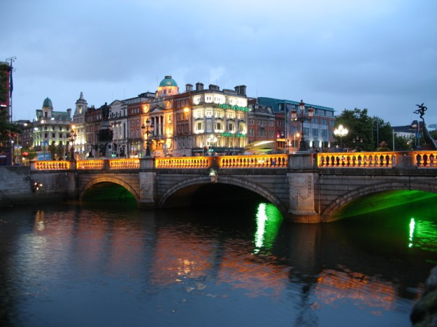 O'Connell Street Bridge.