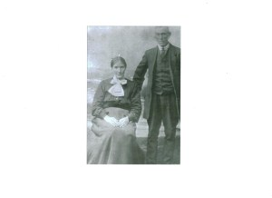 Undated photo of John and Johanna Diggin, who died in 1940 and 1945, respectively.