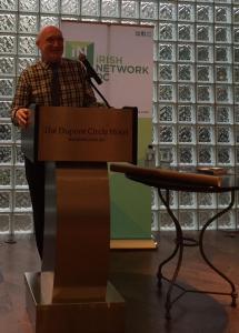 Bill Shaw. Photo by @IrishNewworkDC