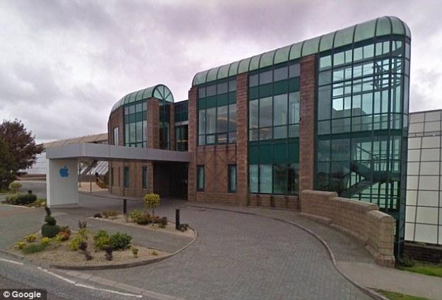 Apple distribution center near Cork city.