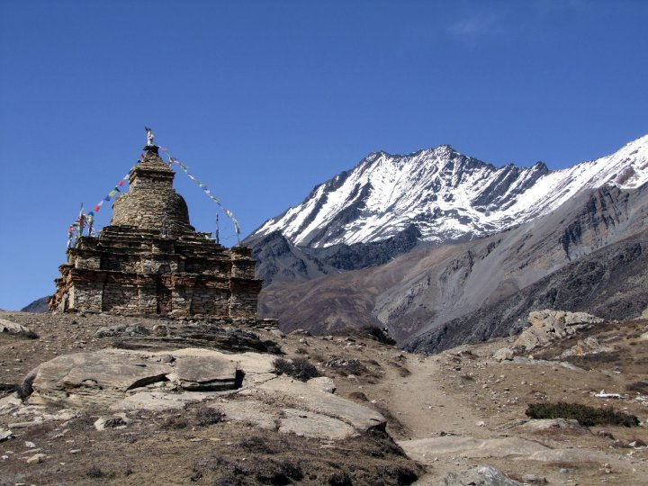 The Naar and Phu region had a Tibetan feel, with desert landscapes and Buddhist stupas