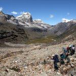 Rising above Valle de los Cojines on Colombia's Cocuy Circuit trek