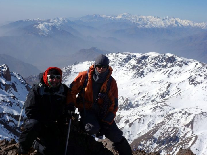 My guide on Toubkal was a shining example of religion practised with tolerance. Those who work in tourism in Morocco are a credit to their country and to their religion, and help to build bridges between cultures.